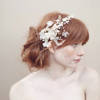 Cherry blossom and crystal headband - Style - #356