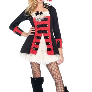 Teen Girls Pretty Pirate Captain Costume- Party City