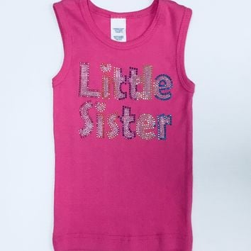 Clearance - Mumsy Goose Tank Shirt Little Sister