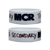 "My Chemical Romance ""Aftermath"" 1 Inch Rubber Wristband - Getup Merch Pte. Ltd. Store"