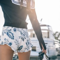 Lagoon Bloomers - Indigo Floral | Stone Cold Fox