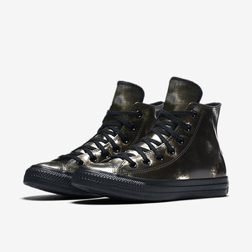 CONVERSE CHUCK TAYLOR ALL STAR BRUSH OFF LEATHER HIGH TOP