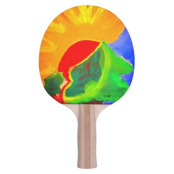 Sunhine Path Ping Pong Paddle