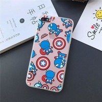 Baby Captain America for iPhone 5/6/7 Models