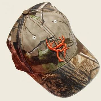 Realtree APG camo and Deer Head Logo | Buck Commander