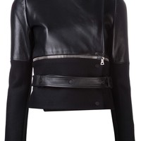 David Koma Contrast Sleeve Jacket - H. Lorenzo - Farfetch.com