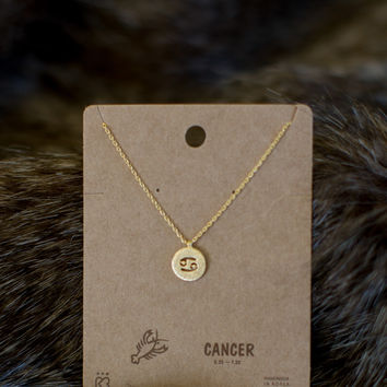 Must Have Cancer Necklace