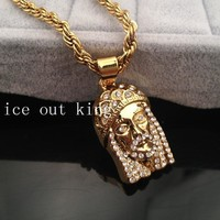 Stylish Shiny Gift Jewelry New Arrival Hip-hop Accessory Alloy Necklace [6542725635]
