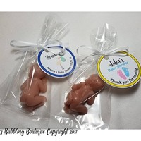 Baby Shower Favors, Personalized Baby Shower Favors for guests at Baby Shower or Baby Sprinkle, with a Personalized Tag - Pack of 10