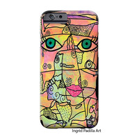 Kitty, iPhone 6 Case, iPhone 5 case, iPhone cover, hard plastic, iPhone 5S case, iPhone 6 plus case