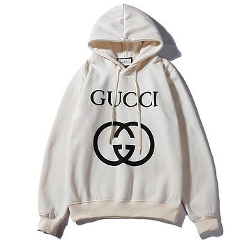 GUCCI Woman Men Fashion Top Sweater Pullover Hoodie
