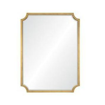 Burnished Gold Leaf Mirror by Mirror Image Home