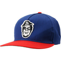 Obey Avast Blue & Red Snapback Hat at Zumiez : PDP