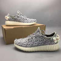 """""""Adidas X Yeezy 350 Boost Oxford Tan"""" Fashion Casual Coconut Unisex Sneakers Couple Running Shoes"""