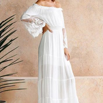 c6ded0a956 Best White Lace Boho Dress Products on Wanelo