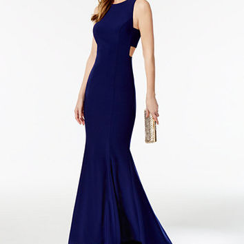 Betsy & Adam Cutout Mermaid Gown | macys.com