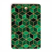 Elisabeth Fredriksson Emerald Cubes Cutting Board Rectangle