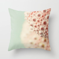 sea urchin series no 3 Throw Pillow by Erin Johnson