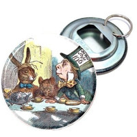 Alice In Wonderland Mad Hatter Bottle Opener