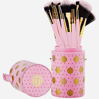 BH COSMETICS 11 Piece Dot Collection Makeup Brush Set | Makeup