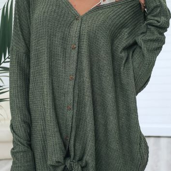 Southern Comfort Top - Olive
