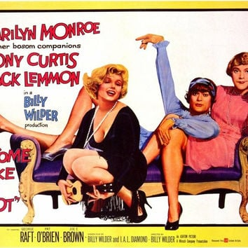 Some Like It Hot 11x14 Movie Poster (1959)