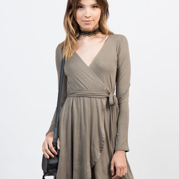 All Wrapped Up L/S Dress
