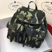 Prada Arrival Bag Couple Shoulder Bag Student Bag Lightwight Backpack Womens Mens Bag Travel Bags