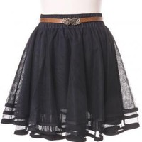 Black Tutu Skirt - Delicacy Triple Layers Tutu | UsTrendy