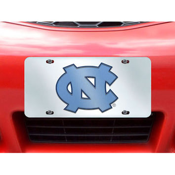 "Fan Mats Unc Chapel Hill License Plate Inlaid 6""X12"""