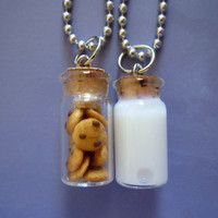 Milk and Cookie Best Friends Necklace