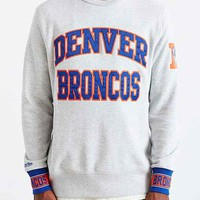 Mitchell & Ness Denver Broncos Team Sweatshirt- Grey