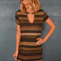 Changing Leaves Knit Dress