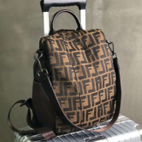Fendi Fashion Shoulder Travel Bag Backpack