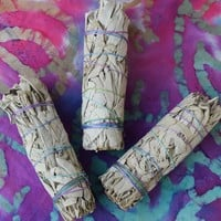 Smudge Sticks 3 pack of Small White Sage Smudging Sticks