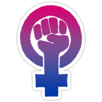 Bisexual Feminist by queenbeedigital