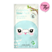 Etude House Patch Green Tea Nose Pack 4 pack I Can Fly Special Edition