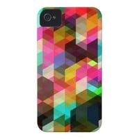 Abstract Geometric  iPhone Case Case-Mate iPhone 4 Case from Zazzle.com