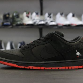 qiyif Nike SB Dunk Low Pigeon Black