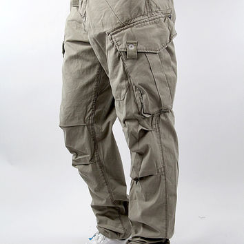 G-STAR RAW Laundry New Rovic Tapered Storm Canvas