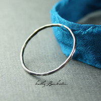 Tiny Silver Ring