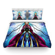"Mandie Manzano ""The Little Sister"" Frozen Cotton Duvet Cover"