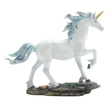 White Unicorn Figurine