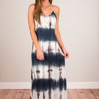 Across The Decades Maxi Dress, Navy