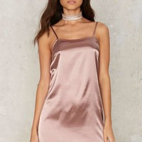 Glamorous Lina Satin Slip Dress