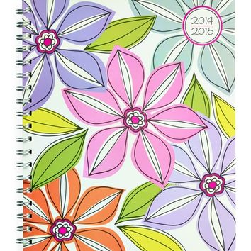 Whimsical Flower Large Weekly/Monthly Planner by Studio C | Studio C by Carolina Pad