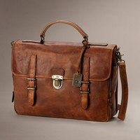 Logan Buckle Briefcase by TheFryeCompany, PCS