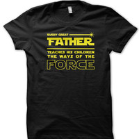 Star Wars Father Teaches The Force