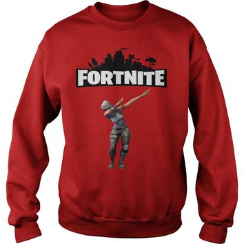 Fortnite Dabbing shirt Sweat Shirt