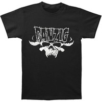Danzig Men's  Skull & Logo Regular Mens T T-shirt Black